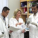 The Partners Team in a Lab